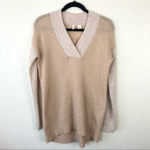 Anthropologie | Moth Colorblocked Neutral Pullover